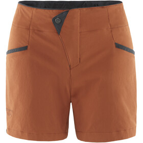 Klättermusen Vanadis 2.0 Shorts Damer, rust